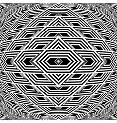 Design seamless geometric background vector