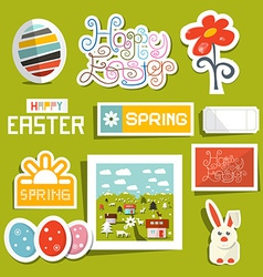 Easter Symbols - Objects Set vector image vector image