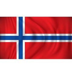 Flag of Svalbard vector