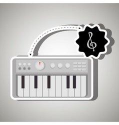 musical concept design vector image