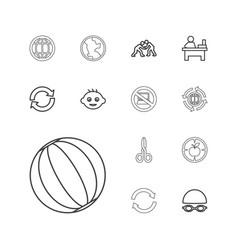 Round icons vector
