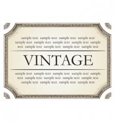 vintage framework marble vector image