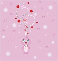 valentine love hugs vector image vector image