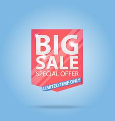 Big sale special offer best price label vector
