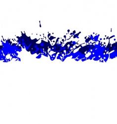 background splash vector image