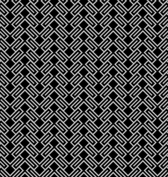 Dark geometric wattled seamless pattern vector