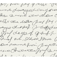 Handwritten text vector