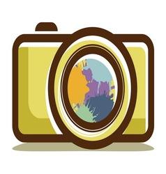 kamera retro aparat2 resize vector image