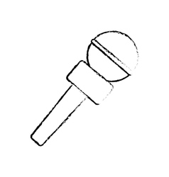 Microphone professional equipment vector image