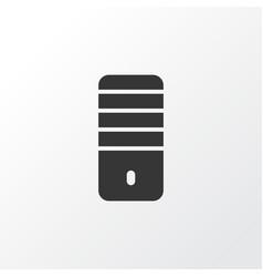 pc icon symbol premium quality isolated processor vector image