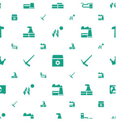 Power icons pattern seamless white background vector