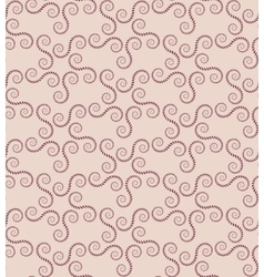 Spiral seamless lace pattern vintage abstract vector