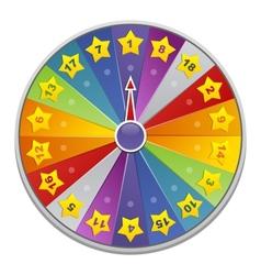 casino wheel of fortune vector image
