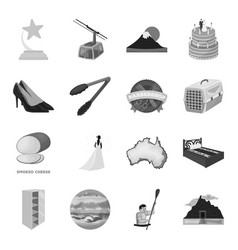 wedding transport space and other web icon in vector image vector image