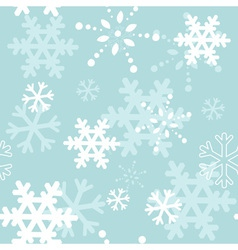 Decorative winter Christmas seamless texture vector image vector image