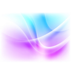 Blue purple abstract blurred wavy pattern design vector