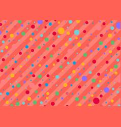polka dot pattern vector image