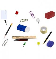 set office goods vector image