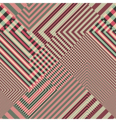 striped textured geometric seamless pattern vector image vector image