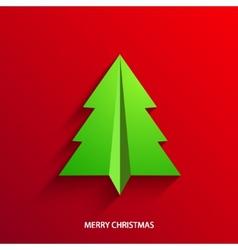 concept christmas tree vector image
