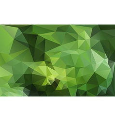 Abstract background in green tones vector