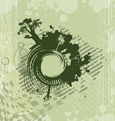 background with abstract image vector image