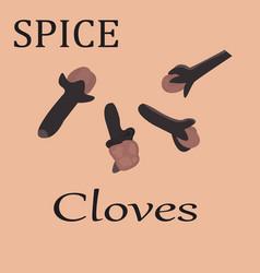 Cloves vector