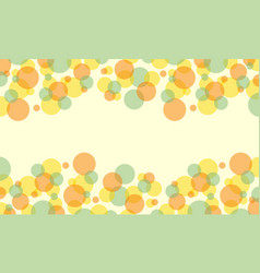 Collection of bubble abstract background style vector