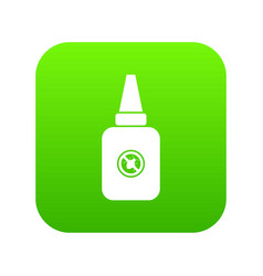 Insect spray icon digital green vector