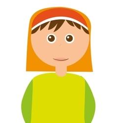 Shepherb cute manger character vector