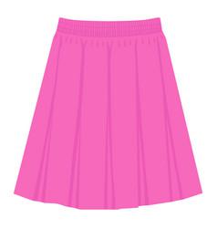 Skirt template design fashion woman women skirt vector