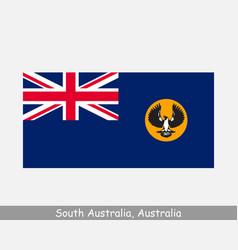 South australia australian state flag sa au vector