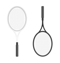 tennis rackets vector image