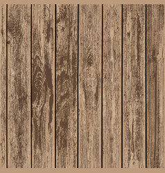 Timber board background vector