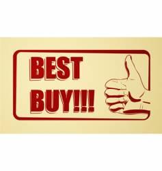 best buy icon vector image vector image