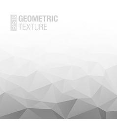 Abstract Gradient Gray White Geometric Background vector image