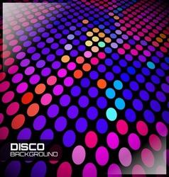 disco spot background vector image vector image