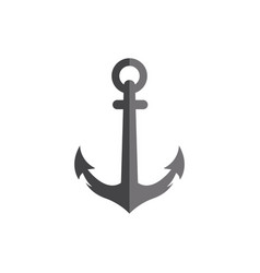 Anchor icon design template isolated vector