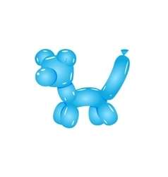 Blue Balloon Cat vector