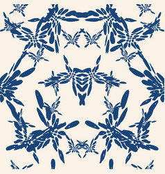 butterfly seamless print vector image