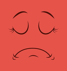 Cartoon face vector