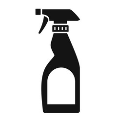 cleaning bottle spray icon simple style vector image
