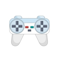 control player videogame vector image
