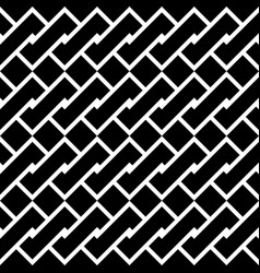 design seamless monochrome spiral twisted pattern vector image