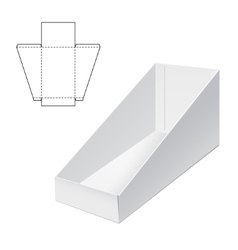 Holder Box Template A vector image