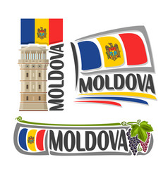 Logo for moldova vector