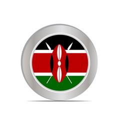 National flag republic kenya vector