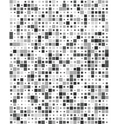 Pattern with gray squares vector