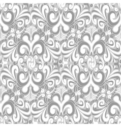 Seamless vintage light gray background vector image vector image