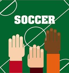 Soccer sport vector